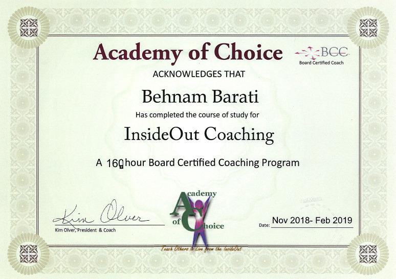 Academy of choice - وبسایت بهنام براتی