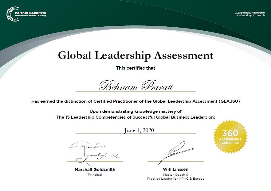 Global Leadership Assessment - وبسایت بهنام براتی